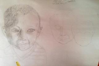 My first baby portrait   by Tamara Hala