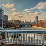 高橋から西