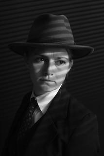film noir (3)  - behind the window | by Riechard