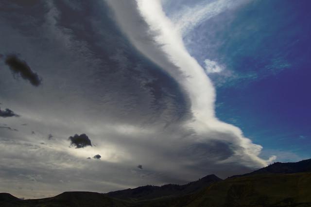 Incredible Wave Lenticular Cloud Reno, NV