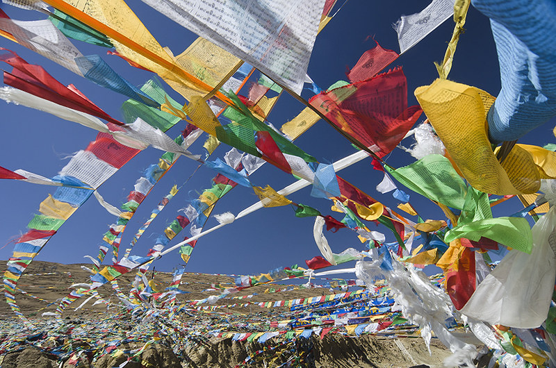 Yulung Pass Prayer Flags
