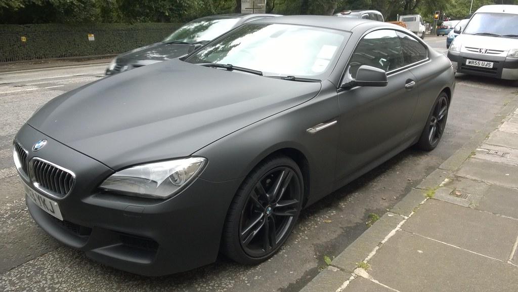 Matte Black BMW >> Bmw 6 Series Coupe Matte Black Jambox998 Flickr