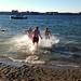 New Year's Swim by Plutor