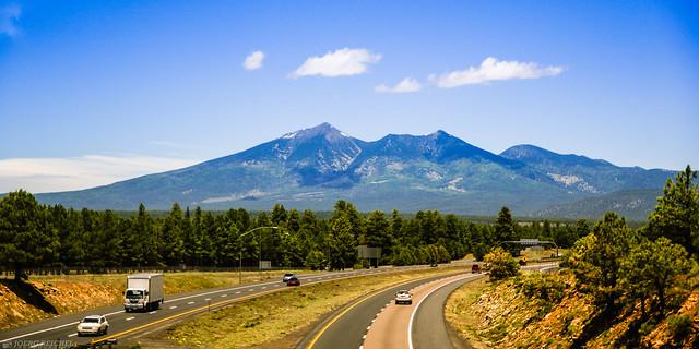 Humphrey´s Peak 3850m