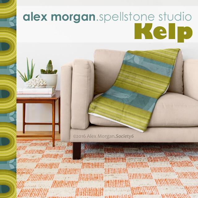 Kelp.throw blanket