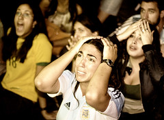 Argentina's fourth penalty is stopped by the German goalie | by Ali Brohi