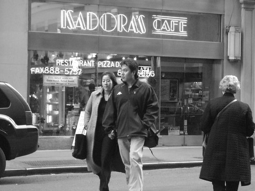 Car, couple, and cafe.