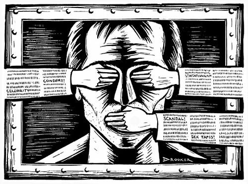 Censorship | by Bill Kerr