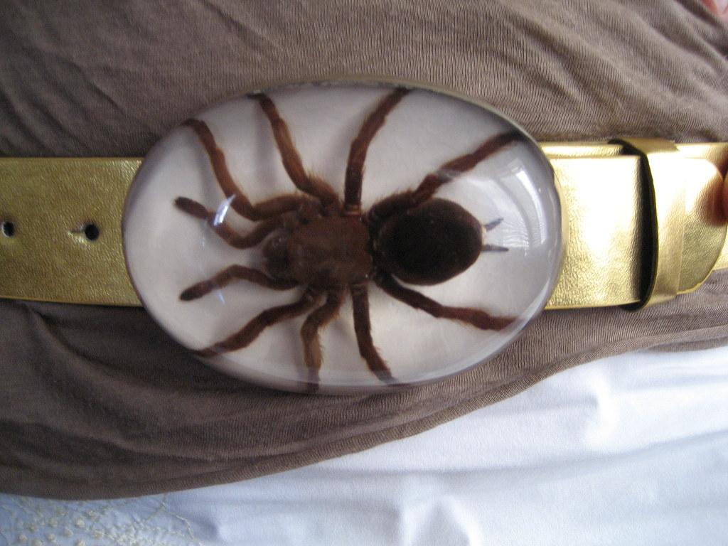Tarantula Spider Belt Buckle
