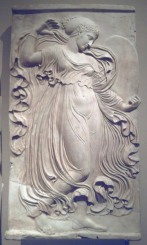Ménade relieve romano (Museo del Prado) 03
