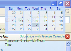 Google Calendar in the Sidewinder Viewer | by Philboooo