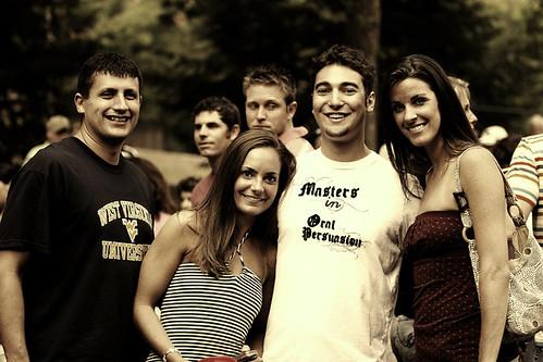 people west students virginia picnic university dental