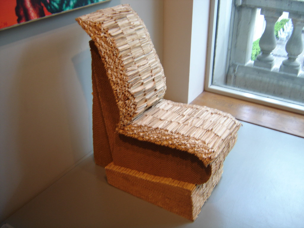 Frank Gehry's cardboard chair