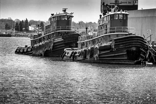 Portland Tugboats 1985