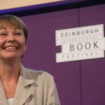 Caroline Lucas | The first Green MP Caroline Lucas reveals the secret workings of parliament at the Book Festival © Alan McCredie