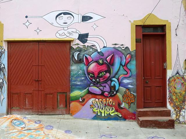 Peintures murales rue San Enrique