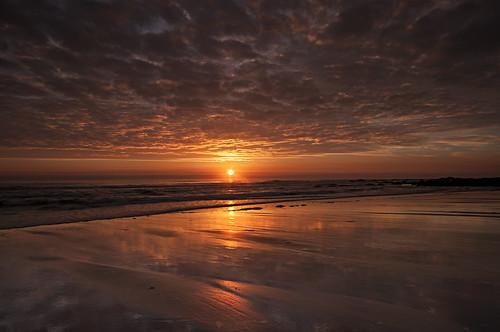 morning seascape sunrise coast east northumberland northsea northeast helios berwickupontweed spittal d90 elidor