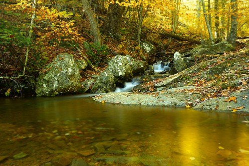 new autumn sunset fall water landscape countryside fallcolor bright outdoor shenandoah shenandoahnationalpark