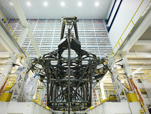 James Webb Space Telescope Structure Poised for Mirror Assembly | by James Webb Space Telescope