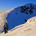 Výstup po rumunsko-ukrajinské hranici na Pop Ivan Marmarošský 1 938 m. , foto: D. Poručnik, 2/2015