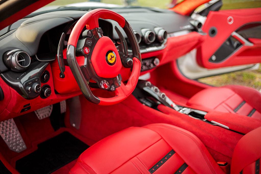 Ferrari F12berlinetta, interior, color