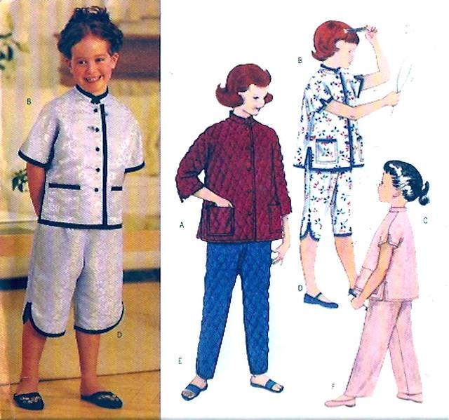 Butterick 3319 cheongsam kids
