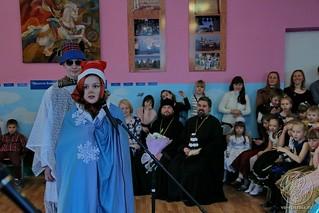 Рождественский концерт в школе 270