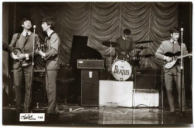 The Beatles postcard (1963)