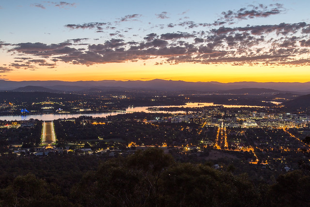 Canberra Sunset
