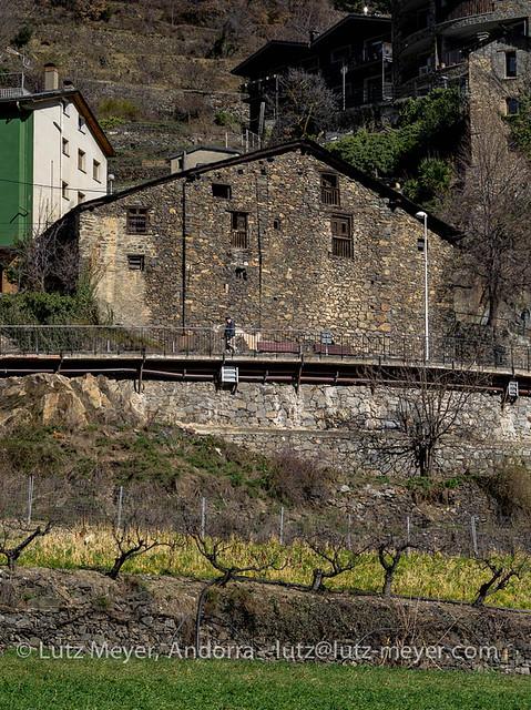 Andorra rural history: Engordany, E-E, the center, Andorra city, Andorra