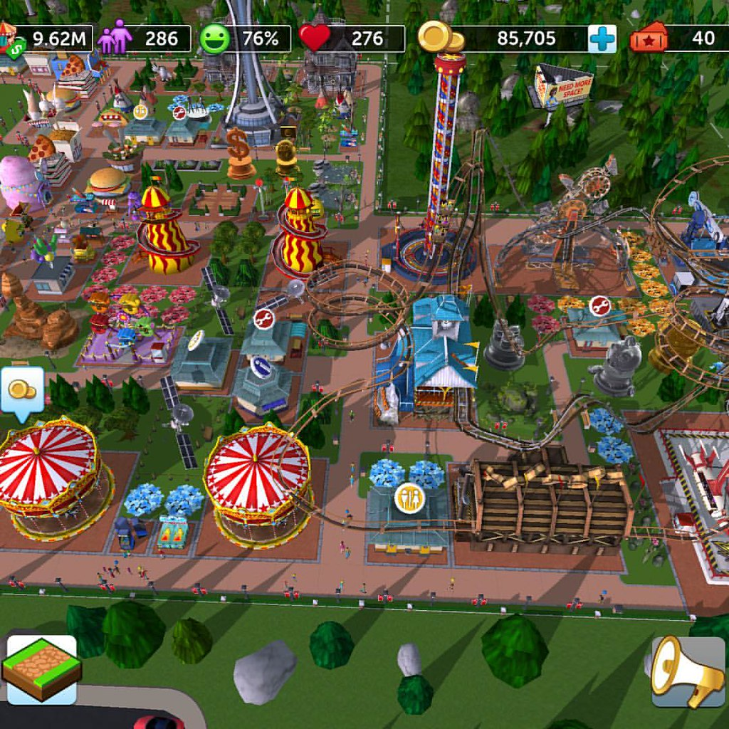 My new favorite game: Roller Coaster Tycoon Touch | Mark