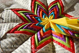 Fancy Folded Star Rainbow