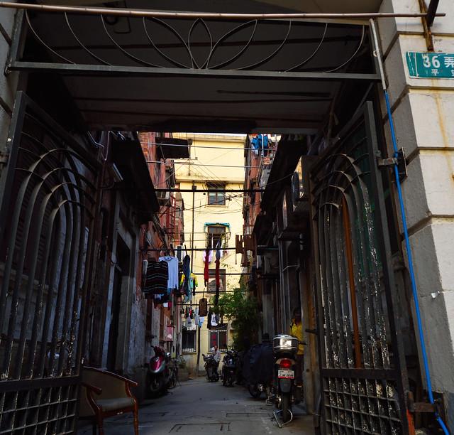 Shanghai side streets