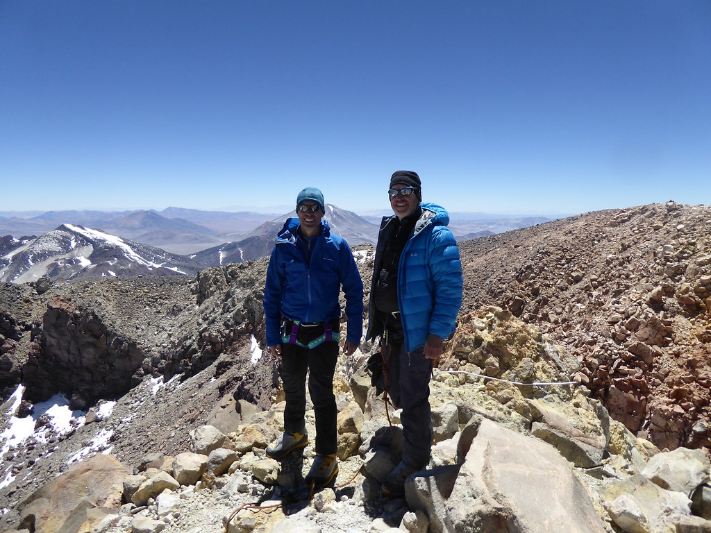 Summit of Ojos del Salado