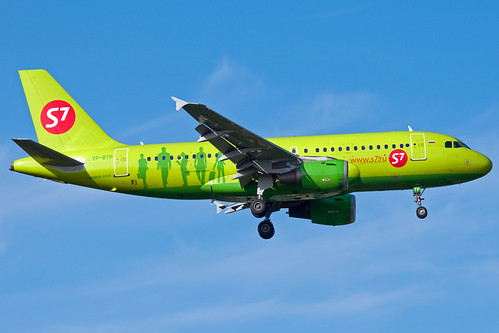 VP-BTP S7 Airlines A319-100 Domodedovo   by rmk2112rmk