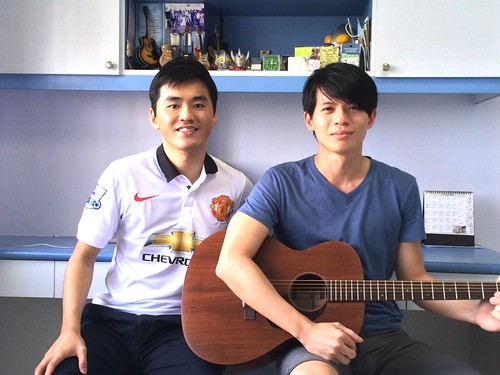 Guitar lessons Singapore Terry Chen
