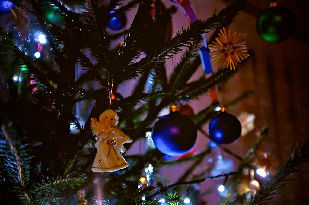 359/365: Angel from the Christmas tree