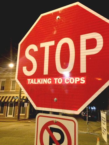 stop talking to the cops RVA