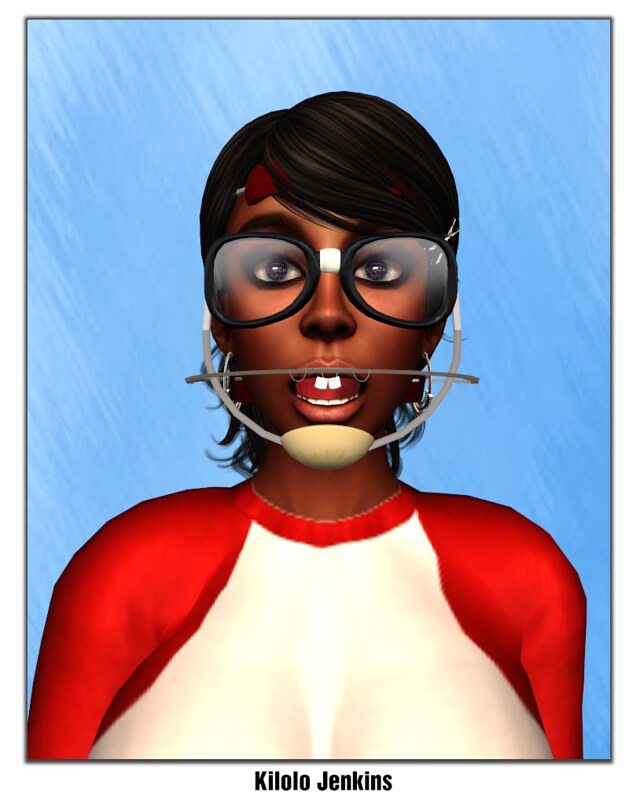 Second Life Yearbook Smile Challenge Take 1