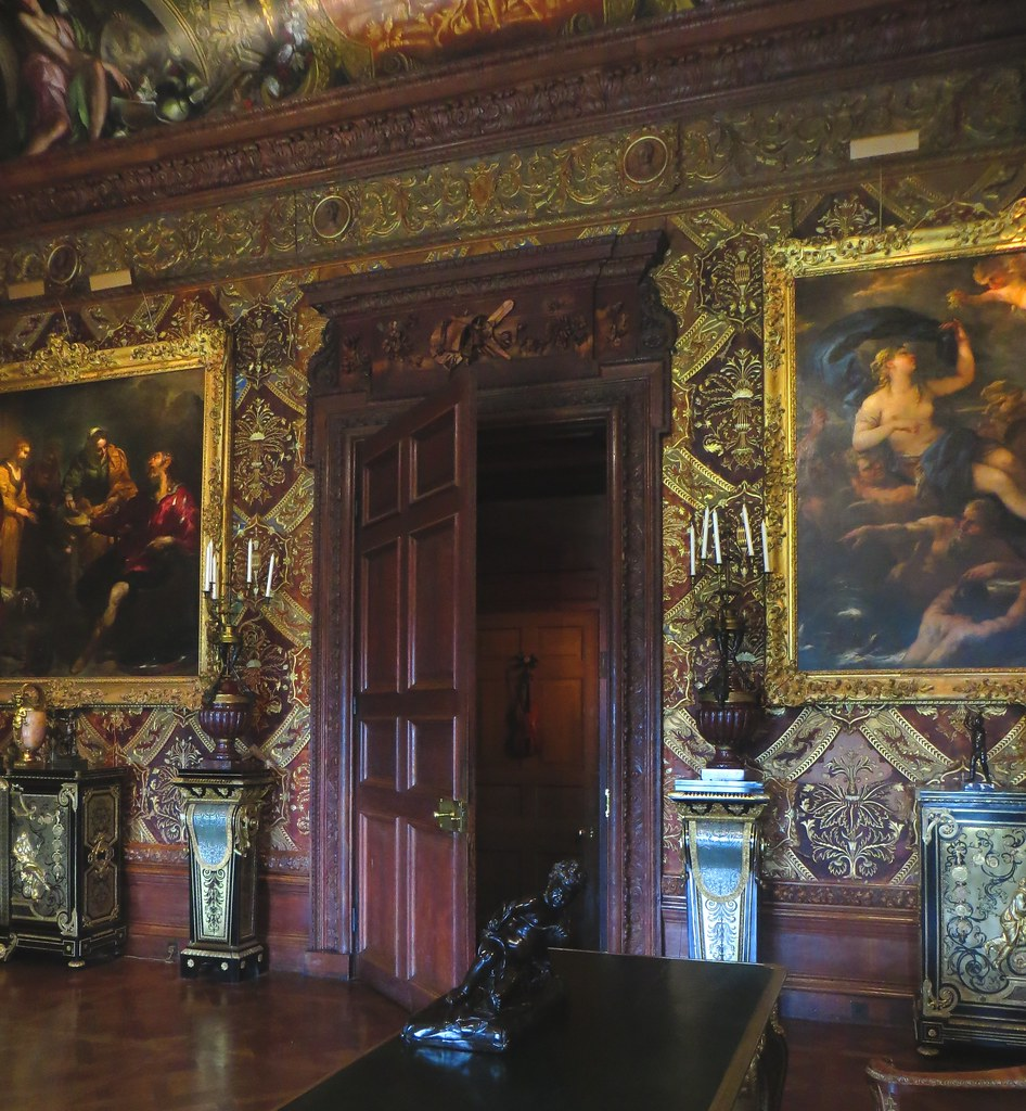 Apartment Fin: Music Room, State Apartments, Chatsworth House (fin XVIIe
