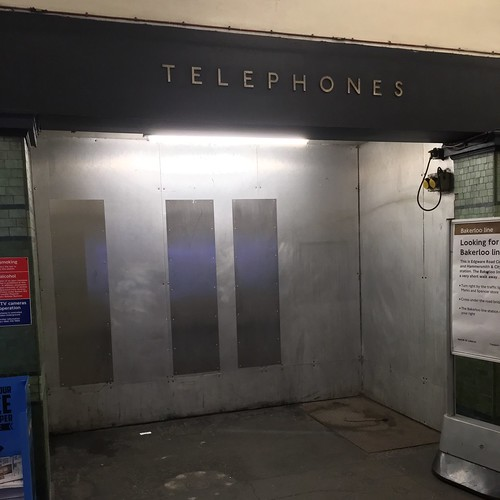 No telephones | by Phil Gyford