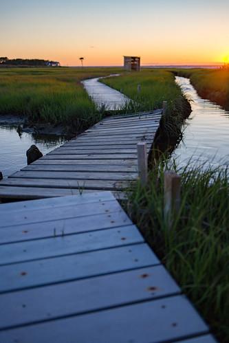 newjersey unitedstates us loveladies lbif saltmarsh nj 2016 lbi longbeachisland longbeachtownship naturetrail ospreyplatform blind barnegatbay sunset