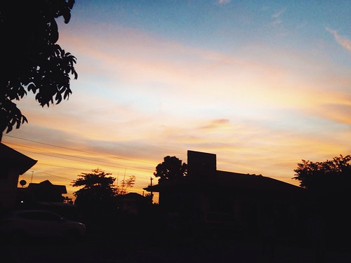 sunset sky philippines lovely hue iloilo cwanders