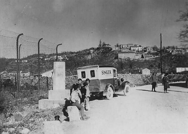 Granica s italijom kod Kastva