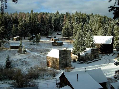 Garnet Ghost Town, Montana   by mypubliclands