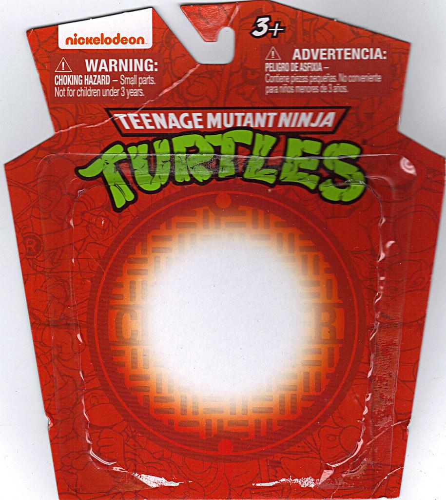 MONOGRAM INTERNATIONAL :: TEENAGE MUTANT NINJA TURTLES; COLLECTIBLE FIGURINES / RAPHAEL ..card backer (( 2014 )) by tOkKa