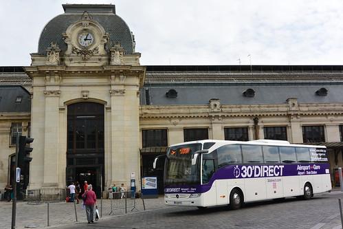 Mercedes Benz Tourismo M €6 146014 Cars de Bordeaux - 30'Direct Gare St Jean Parvis | by Sébastien Prt