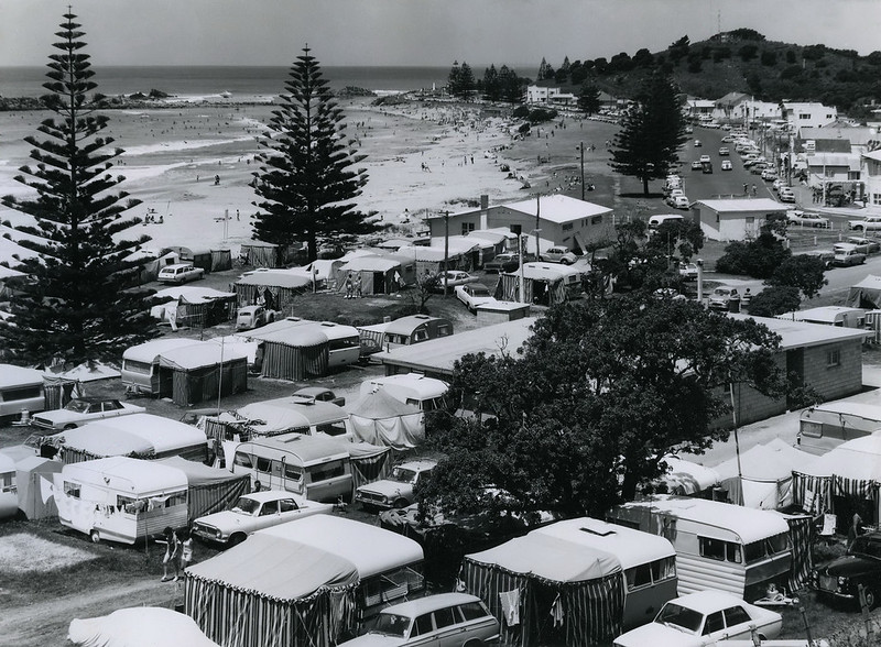Camping in New Zealand camping grounds is about living with nature where the outdoors is a civilised nature