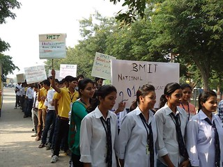 Rally on National Education Day @BMIT | by bmitjaipur