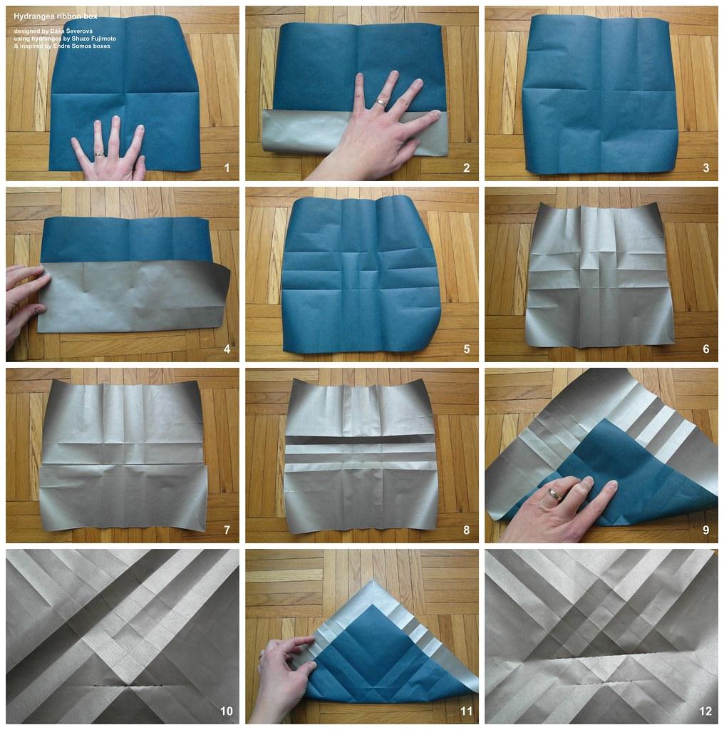 Origami Bow Folding Instructions | 1024x1016
